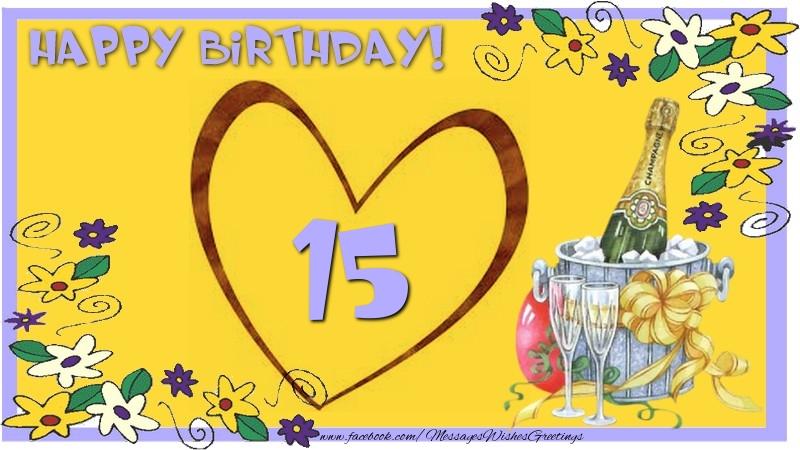 Happy Birthday 15 years