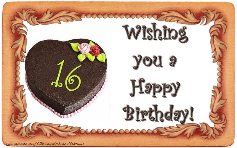 Wishing you a Happy Birthday! 16 years