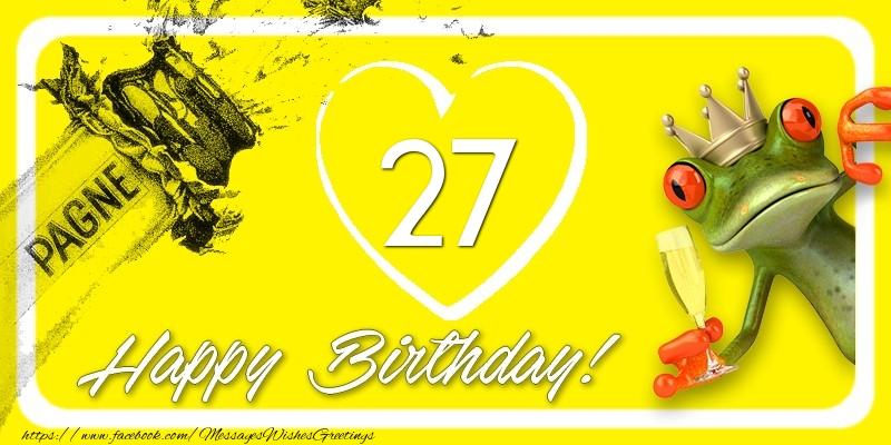 Happy Birthday, 27 years!