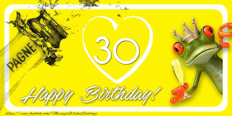 Happy Birthday, 30 years!