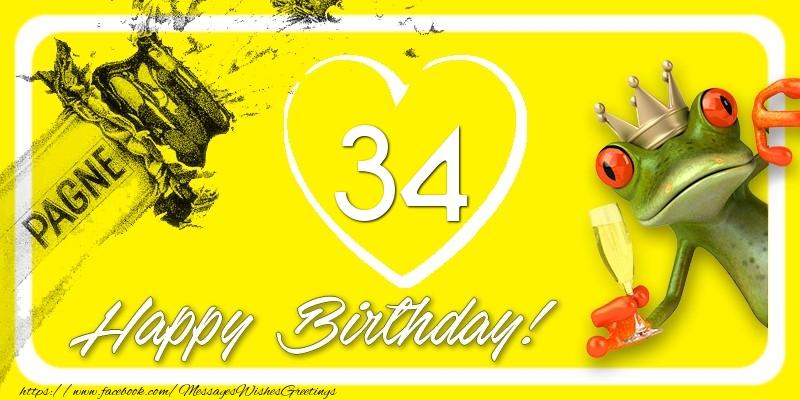 Happy Birthday, 34 years!