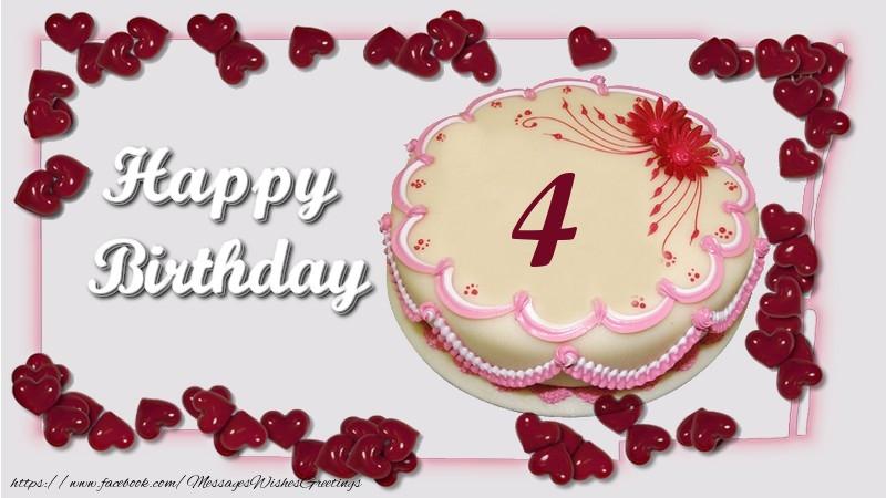 Happy birthday ! 4 years