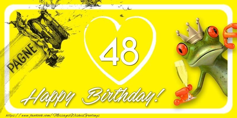 Happy Birthday, 48 years!