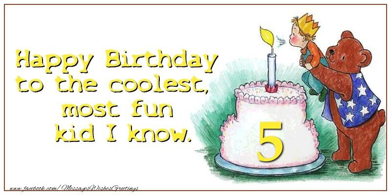 Happy birthday 5 years