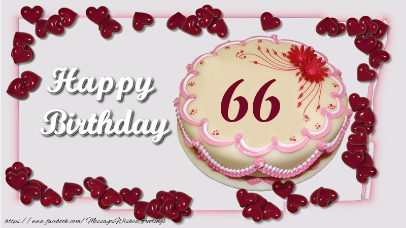 Happy birthday ! 66 years