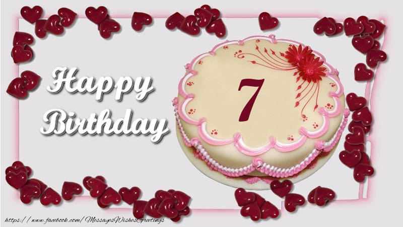 Happy birthday ! 7 years