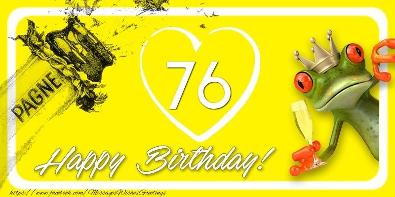 Happy Birthday, 76 years!
