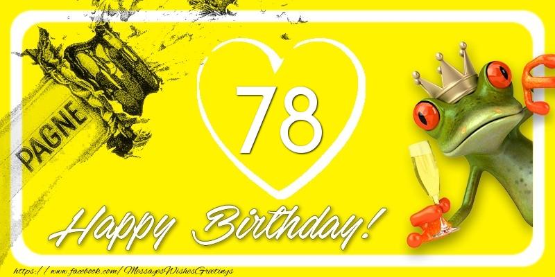 Happy Birthday, 78 years!