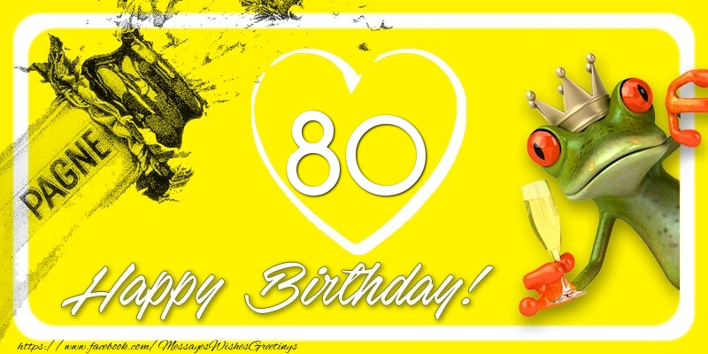 Happy Birthday, 80 years!