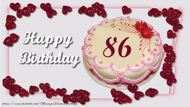 Happy birthday ! 86 years