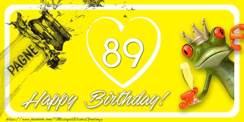 Happy Birthday, 89 years!