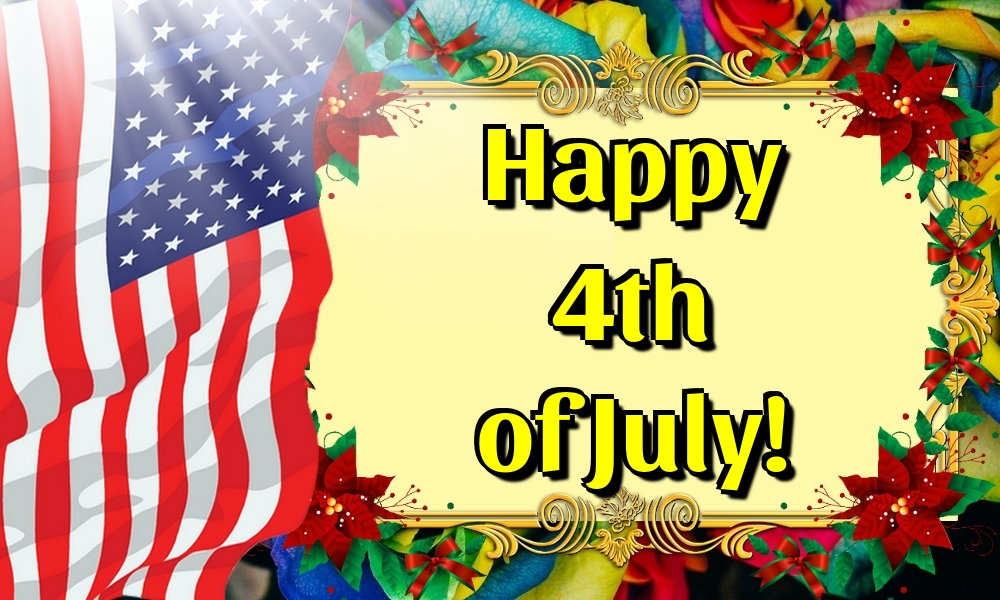 Greetings Cards  - Happy 4th of July!