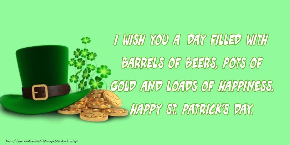 Saint Patrick's Day St. Patrick's Day.