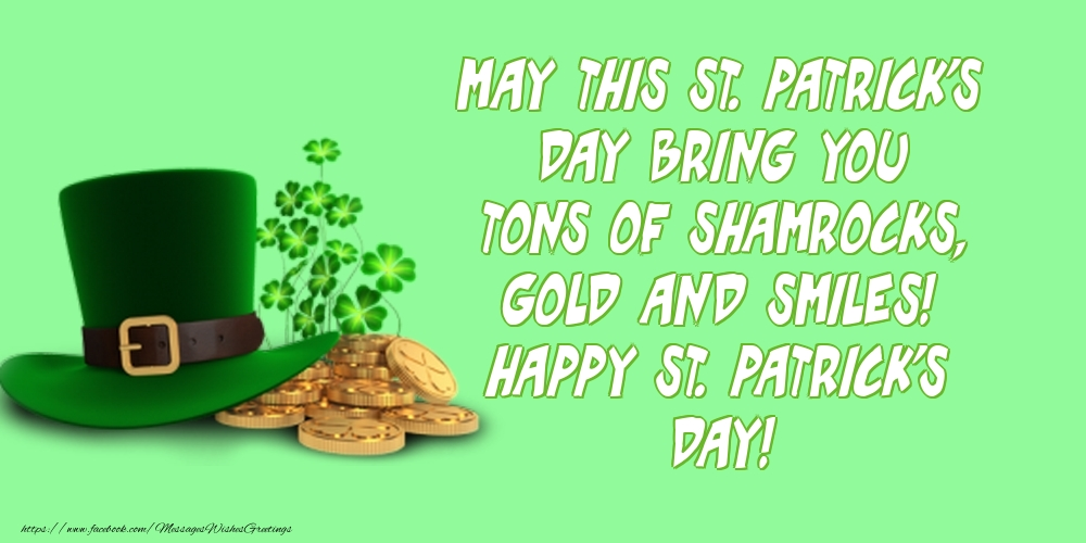 Greetings Cards for Saint Patrick's Day - Happy St. Patrick's Day!