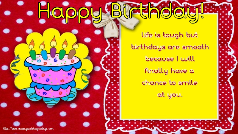 Popular greetings cards for Birthday with messages - Happy Birthday!