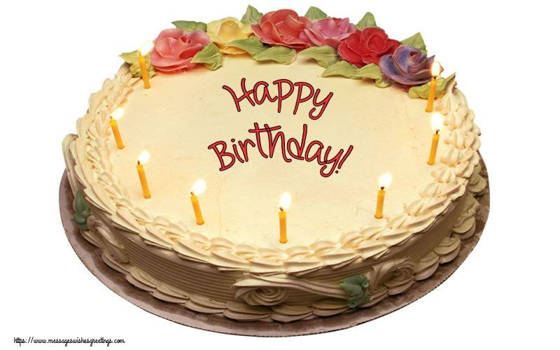 Greetings Cards for Birthday - Happy Birthday! - messageswishesgreetings.com