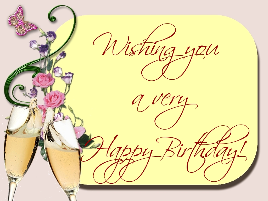 Greetings Cards for Birthday - Wishing you a very Happy Birthday!