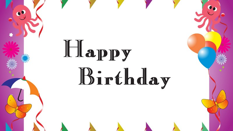 Greetings Cards for Birthday - Happy birthday