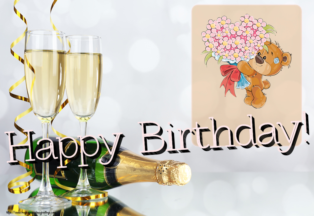 Popular greetings cards for Birthday - Happy Birthday!