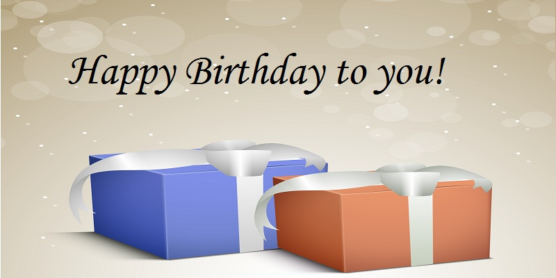 Greetings Cards for Birthday - Happy Birthday to you!