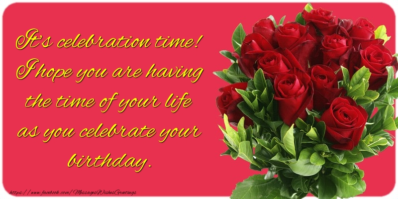 Popular greetings cards for Birthday - It's celebration time!