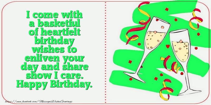 Popular greetings cards for Birthday - Happy Birthday.