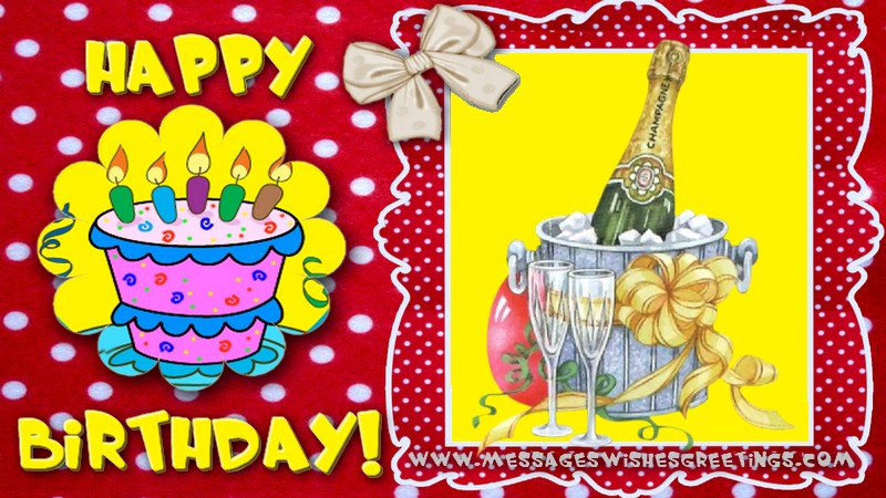 Greetings Cards for Birthday - Happy Birthday!