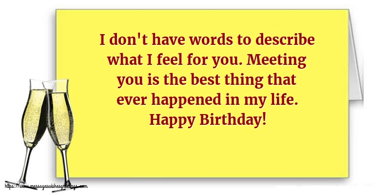 Greetings Cards for Birthday with messages - Happy Birthday!