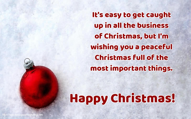 Greetings Cards for Christmas - Happy Christmas!