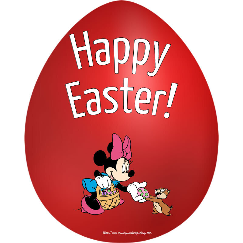 Greetings Cards for Easter - Happy Easter!