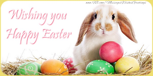 Easter Wishing you Happy Easter