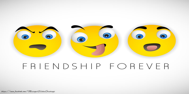 Greetings Cards Friendship - Friendship Forever