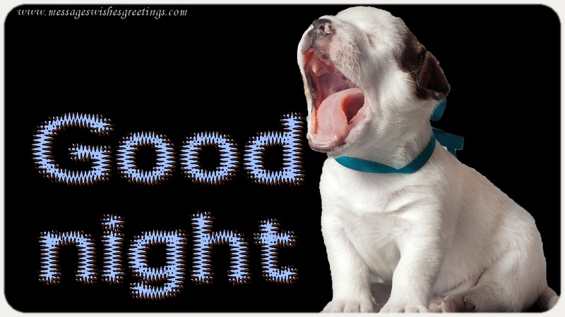 Greetings Cards for Good night - Good night
