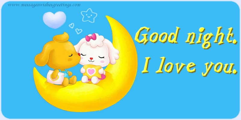 Wallpaper I Love You Good Night : Free Goodnight I Love You Images Wallpaper Images