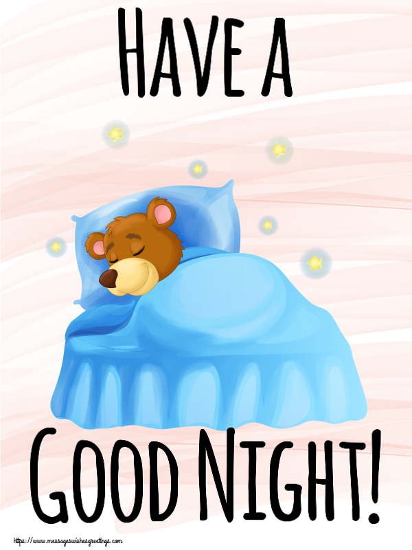 Greetings Cards for Good night - Have a Good Night!
