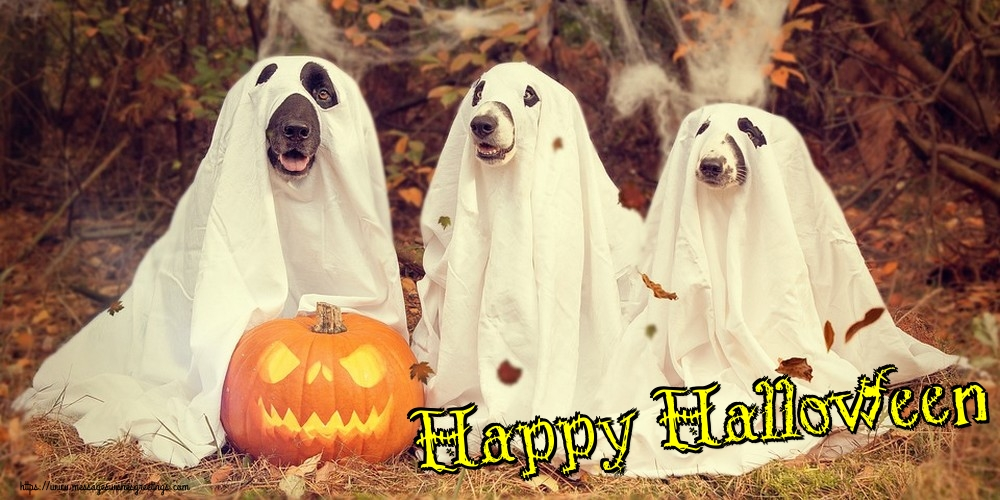 Greetings Cards for Halloween - Happy Halloween
