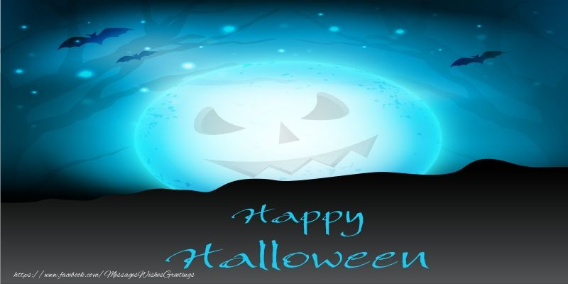Greetings Cards for Halloween - Happy Halloween!