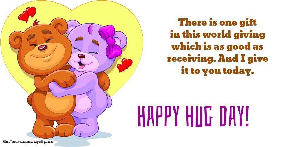 Greetings Cards for Hug Day - Happy Hug Day!