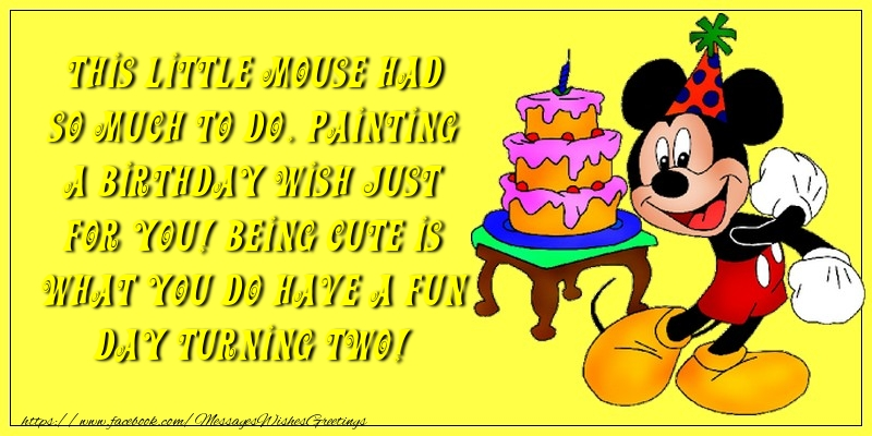 Greetings Cards for kids - Happy birthday