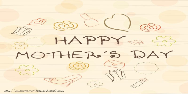Greetings Cards for Mothers day - Happy Mother's Day!