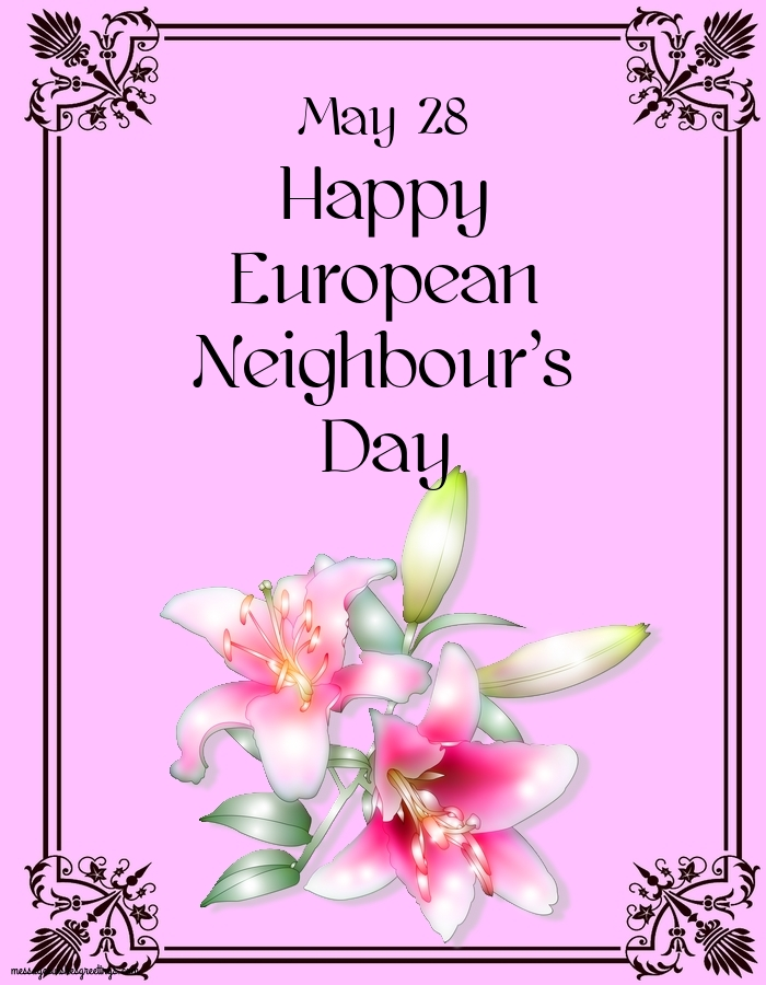 Greetings Cards  - European Neighbour's Day