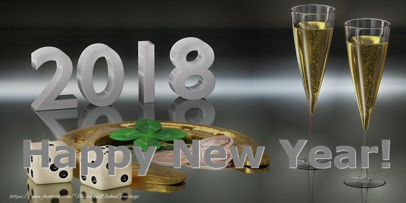 New Year 2018 Happy New Year!