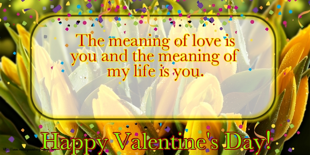 Greetings Cards for Valentine's Day - Happy Valentine's Day!