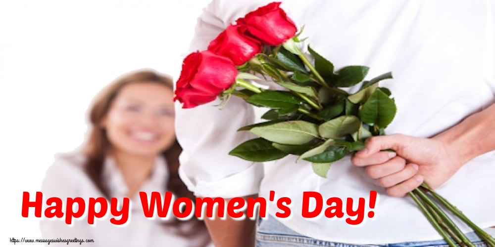 Popular greetings cards for Women's Day - Happy Women's Day!