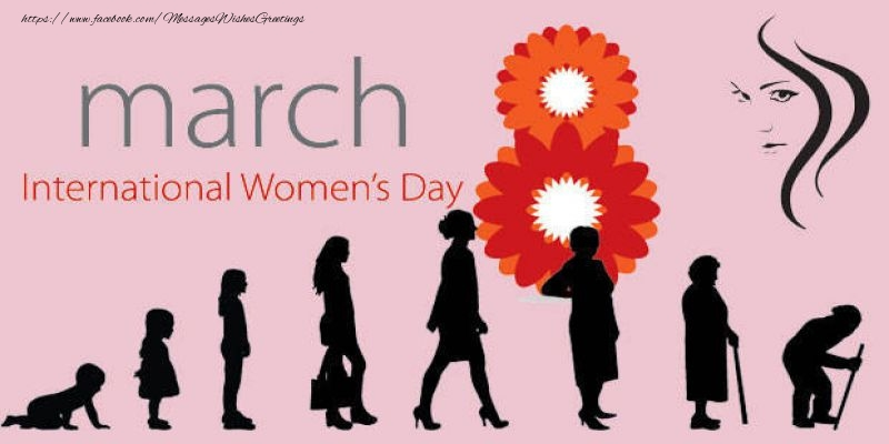 Women's Day 8 March Women's day!
