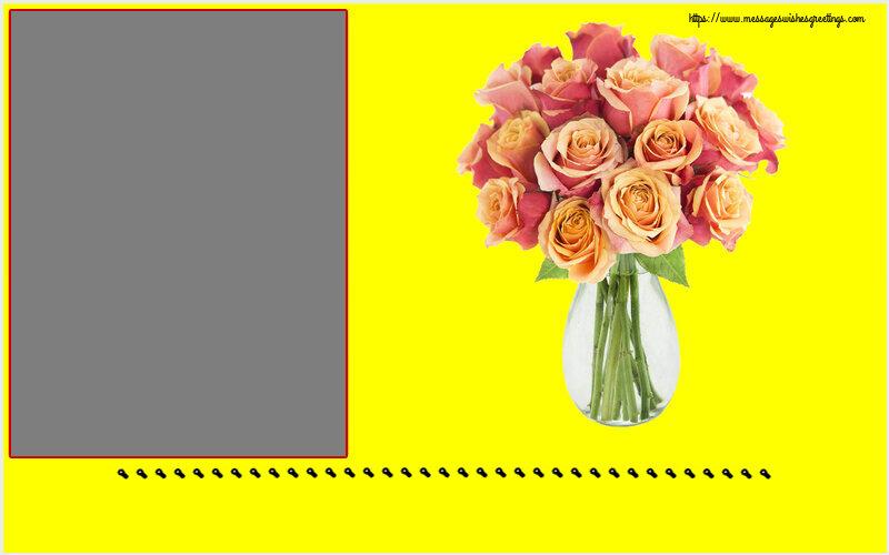 Custom Greetings Cards for Birthday - ... - Photo Frame