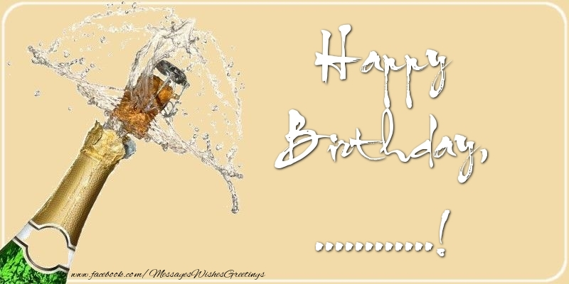 Custom Greetings Cards for Birthday - Happy Birthday, ...