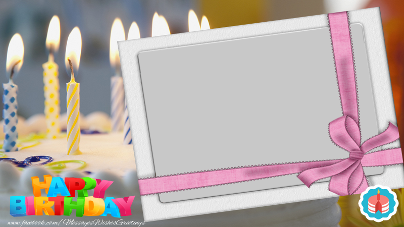 Custom Greetings Cards for Birthday - Happy Birthday
