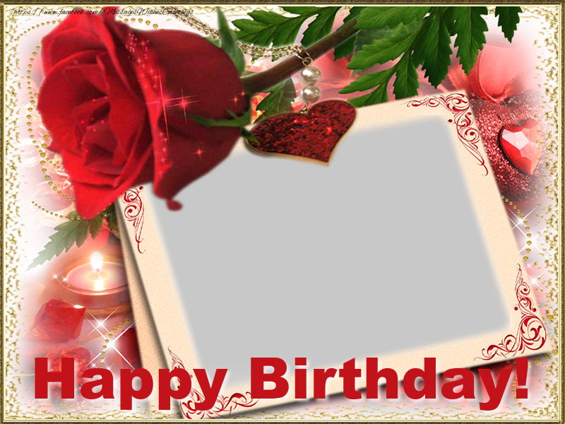 Custom Greetings Cards for Birthday - Happy Birthday!