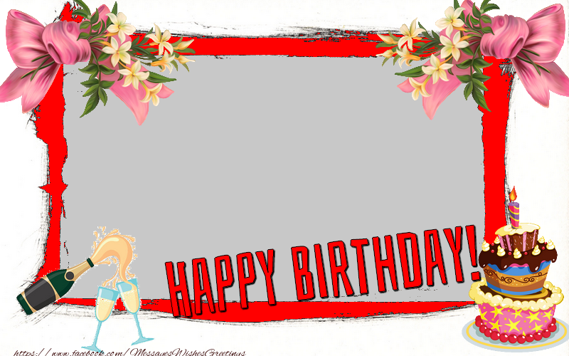 Custom Greetings Cards for Birthday - Happy Birthday
